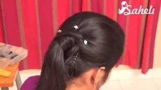 Easy & cute wedding hairstyle for girls 2019 | BRIDAL HAIRSTYLES 2019