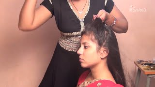 Bridal Hairstyle   Jhula Bride Hair Style