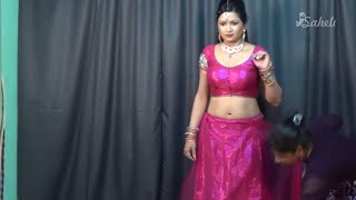 How To Wear Saree In Party Season | Dancing Style Sari To Look Hot With Heels 2019