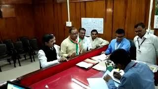खंडवा लोकसभा : अरूण यादव ने भरा नामांकन । Arun yadav files nomination for Khandwa Lok Sabha