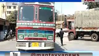 Gondal: Biker died after being hit by a Truck | Mantavya News