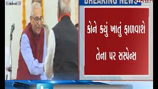Gandhinagar: Suspense over allocation of portfolios to eight newly inducted ministers