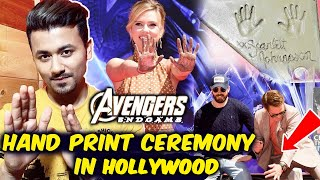 Avengers Endgame | Original 6 Avengers Honored With Hand-Print Ceremony In Hollywood