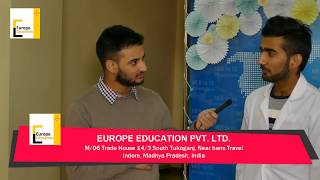 Study MBBS in Ukraine | Student from Madhya Pradesh sent for MBBS in Ukraine by Europe Education