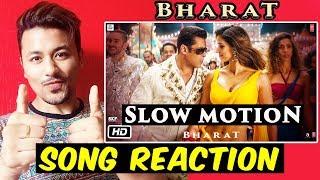 Slow Motion SONG REACTION | REVIEW | BHARAT | Salman Khan, Disha Patani