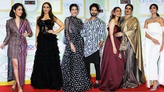 Global Spa Awards 2019 | Red Carpet | Full Video | Shahid Kapoor, Kriti Sanon, Yami Gautam, Rekha...