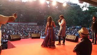Khesari Lal Yadav और Nidhi Jha का जबरदस्त स्टेज शो - पलंग करे चोय चोय | Hit Stage Show 2017