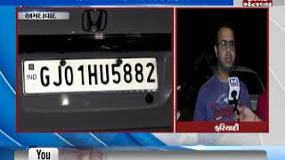 Ahmedabad: A drunk girl tried to run her car over a man after Road rage in Bopal