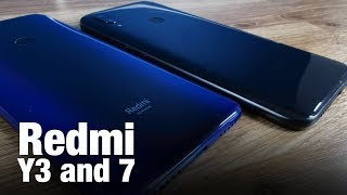 Redmi Y3, Redmi 7 Sport All-New Design Language | Unboxing & First Impressions, Features, Price