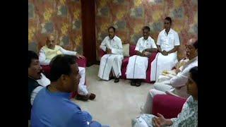 BJP President Amit Shah meets NDA allies in Varanasi