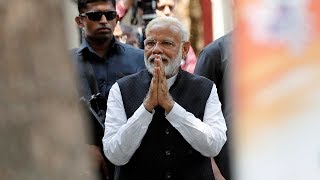 Modi in Varanasi: PM files nomination papers from holy city