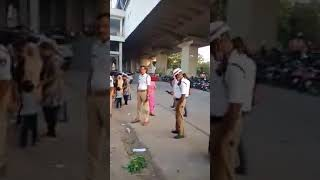A Hindu Came To Save Muslim Vendor | From Traffic Police In Hyderabad