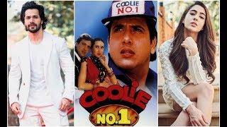 Varun Dhawan and Sara Ali Khan come together for Coolie No.1' remake