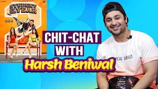 Student Of The Year 2 | Harsh Beniwal Exclusive Interview | Tiger Shroff | Ananya | Tara Sutaria
