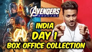 Avengers Endgame DAY 1 COLLECTION In INDIA | Box Office Prediction | Thanos Vs Super Heroes