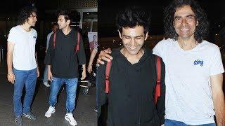 Kartik Aaryan And Imtiaz Ali Wraps Up Udaipur Schedule   Spotted At Mumbai Airport After