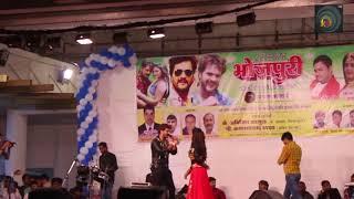 New Khesari Lal Stage Show | खेसारी लाल और अंजना सिंह - भतार मजा बहरी मरबे करी  2018