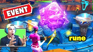 LOOT LAKE Rune Event Happening Now! CUBE LOOT LAKE Rune Event!  DIG EVENT Fortnite Battle Royale
