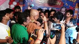 Khesari Lal ke bete Rishabh Yadav ke birthday party mein Pawan Singh ne kya Gaya suniye
