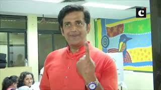 LS polls: Celebs cast their vote in Mumbai