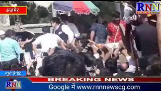 फिल्म अभिनेता गोविन्दा कांग्रेस प्रत्याशी रिजु झुनझुनवाला के समर्थन में अजमेर में रोड शो करने पहुंचे