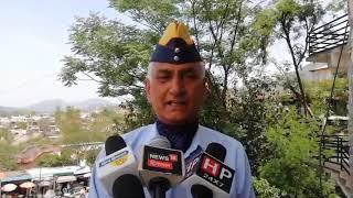 27 N 5_Sainik Welfare Committee organized voter awareness rally at district headquarters