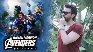 Avengers Endgame INDIAN VERSION | Iron Man Thor Captain America, Black Widow, Hulk, Hawkeye