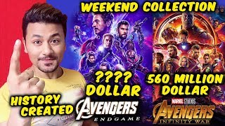 Avengers Endgame BREAKS Avengers Infinity War BOX OFFICE COLLECTION Worldwide