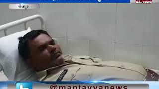 Jetpur: Sub Jail's 2 Constables was attacked by 2 men | Mantavya News