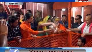 Prayagraj: Congress' Priyanka Gandhi Vadra offers prayers at Bade Hanuman temple
