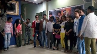 हिन्दी फिल्म लवली राजा के भव्य मुहूर्त में पहुंचे भोजपुरी के स्टार सिंगर बिक्की बबुआ