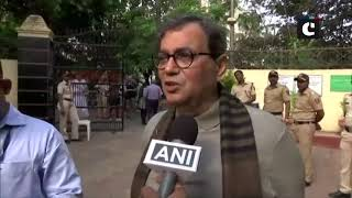 LS polls: Madhuri Dixit, Subhash Ghai cast their vote in Mumbai