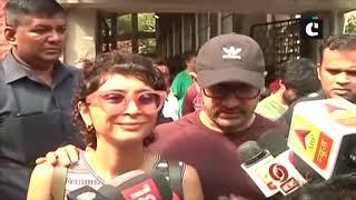 LS polls:  Aamir Khan, Priyanka Chopra & Zoya Akhtar among early voters in Mumbai