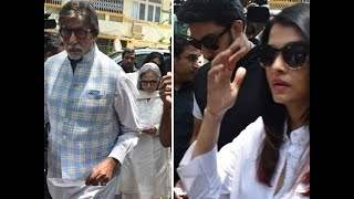 Election News LS 2019: Amitabh Bachchan and family cast their vote in Lok Sabha Election 2019