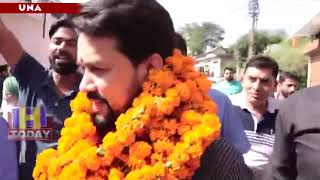 29 N 10 b 3_Anurag Thakur campaigned in the Kuttlahad assembly constituency today