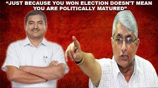 Velingkar Taunts Sidharth, Says Just Because He Won Election Doesn't Mean He is Politically Matured