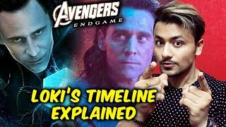 Avengers: Endgame What Happened With Loki And The Tesseract? | LOKI'S Timeline Explained