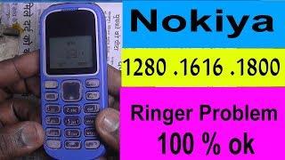 Nokia 1280 Ringer Problem - 1616 Ringer Problem - Nokiya 1800 Ringer Problem 100 % ok