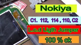 Nokiya 112 Display Light Jumper - C1 Display Jumper - Nokiya 110 Display Jumper - C2 Light Jumper