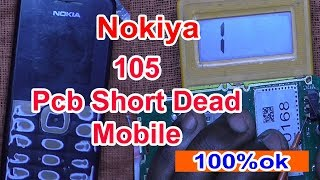 Nokia 105 bord short solution || 105 pcb short || nokia 105 dead solution || Rm 908 shorting problem