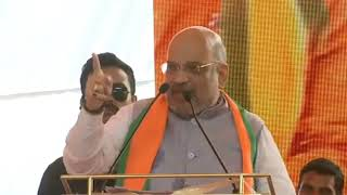 Shri Amit Shah addresses public meeting in Alwar, Rajasthan : 30.04.2019