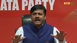 Press Briefing by Shri GVL Narasimha Rao at BJP Head Office, New Delhi : 30.04.2019