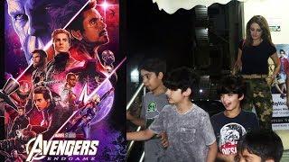 Hrithik Roshans Children Watches Avengers Endgame In PVR Juhu