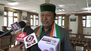 1 MAY N 11 The BJP has been disturbed by having two senior leaders together in the state.