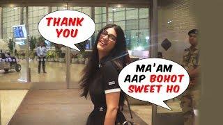 Maam Aap Bohot Sweet Ho! Shruti Hassan Sweet Gesture Towards Cameraman