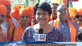 Ahmedabad: BJP chief Amit Shah started Lok Sampark campaign for the 2019 Lok Sabha polls