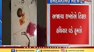 Jetpur: Thieves attacked on the Mahant of a Temple and robbed cash | Mantavya News