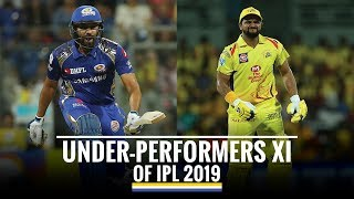 Under Performers XI of IPL 2019 so far, Rohit & Shaw to open the innings