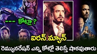 shocking remuneration of avengers I iron man remuneration I avengers box office I RECTV INDIA