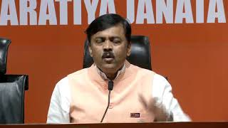 Press Briefing by  GVL Narasimha Rao